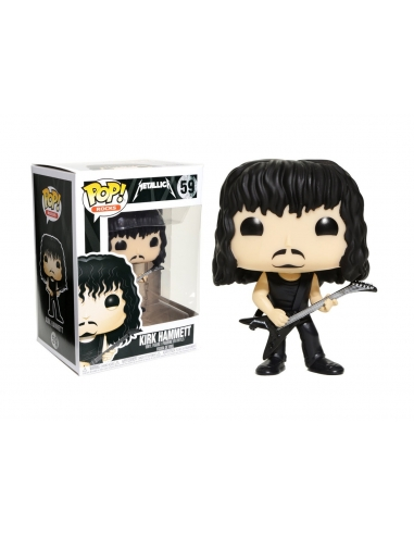 Figura Funko Pop Metallica Robert Trujillo 60