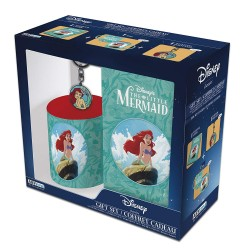 Pack taza + llavero + libreta A6 Ariel (la Sirenita) Disney
