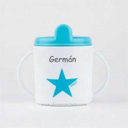 Taza estrella azul Personalizada