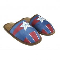Zapatillas Capitán America Premium descalzas adulto Marvel