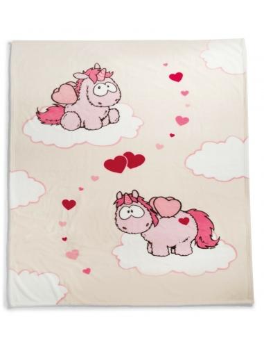 m Unicornio Theodor con  Corazón Rojo 35cm
