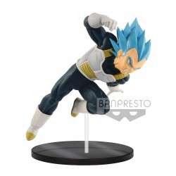 Figura Dragon Ball Super Saiyan God Super Saiyan Vegeta The Movie III Banpresto