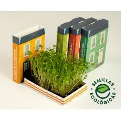 Kit Autocultivo La Casa de las Micro Plantas de Rúcula