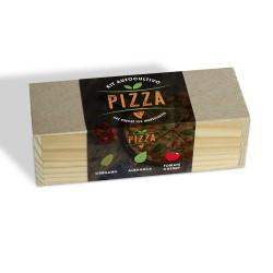 Kit Autocultivo Culinario para Pizza Orégano, Albahaca y Tomate Cherry