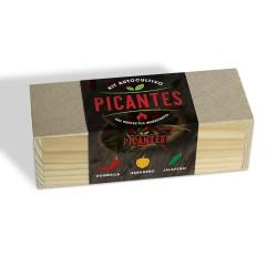 Kit Autocultivo Culinario Picantes, Guindilla, Habanero, Jalapeño