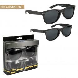 Gafas de Sol Batman Negras con Logo set de 2 DC