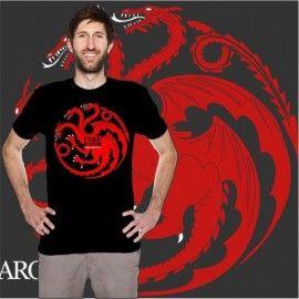 Camiseta Targaryen Dragon ( Juego de Tronos)