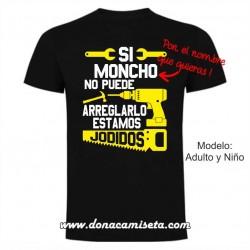 Camiseta Si el abuelo no puede arreglarlo (Nombre Personalizable)