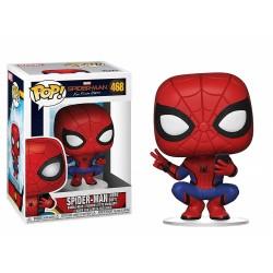 Figura Pop Spiderman Peter Parker 404 Marvel