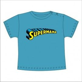 Camiseta MC Bebé Supermama