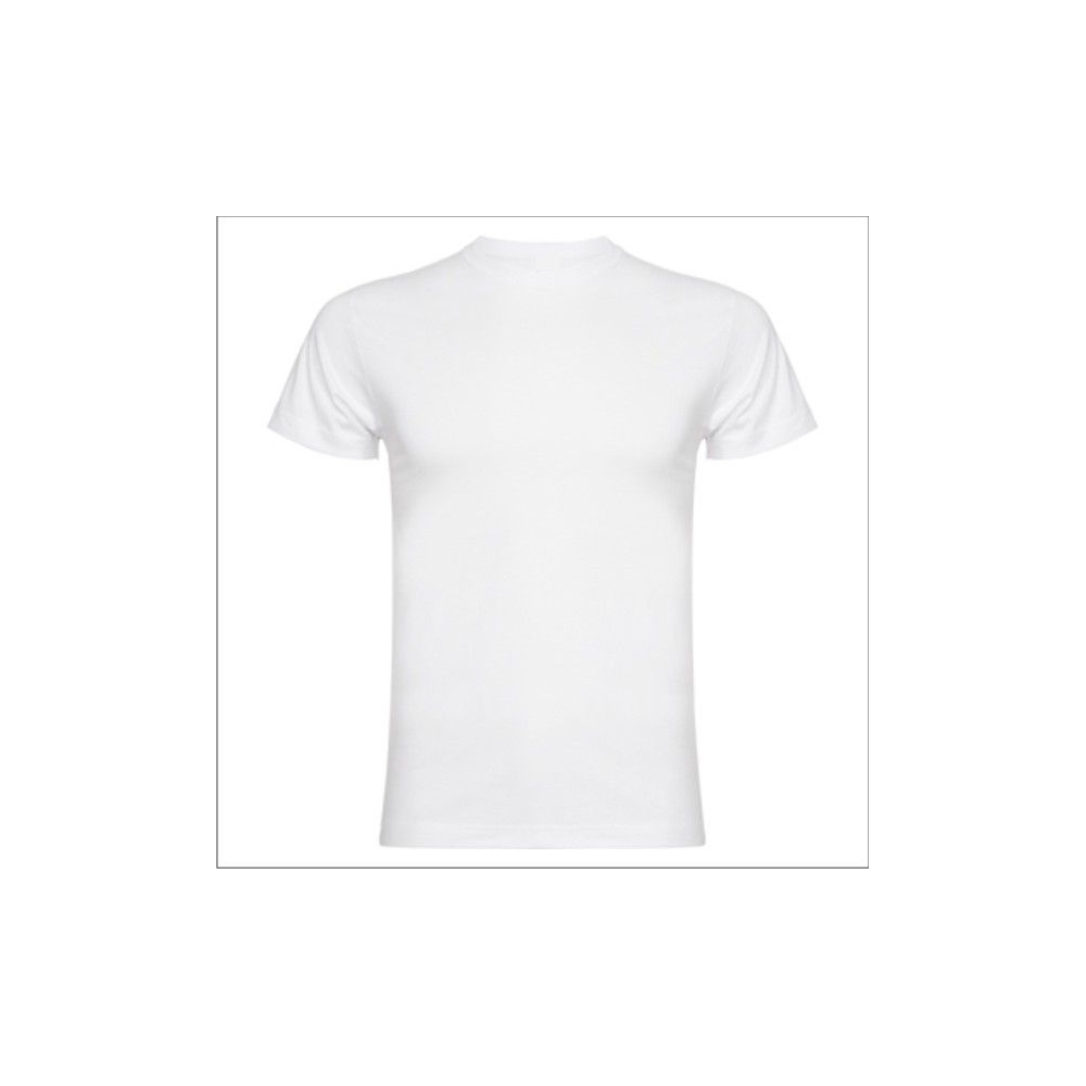 Camiseta MC Unisex Blanca Personalizable Calidad ALTA