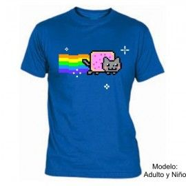 Camiseta MC Nyan Cat