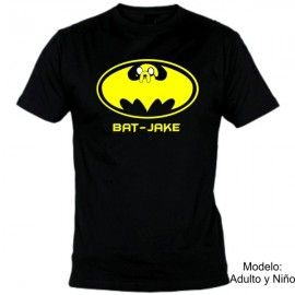Camiseta MC Bat - Jake Hora de Aventuras
