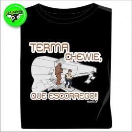 Camiseta MC Unisex Terma Chewie
