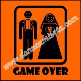 Camiseta MC Unisex Game Over