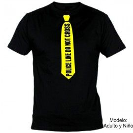 Camiseta MC Corbata Police Line