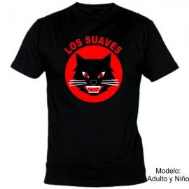 Camiseta MC Los Suaves Gato