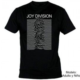 Camiseta MC Joy Division Unknown Pleasures