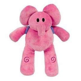 Peluche elefante Elly Pocoyo 26cm
