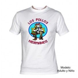 Camiseta MC Los Pollos Hermanos (Breaking Bad)