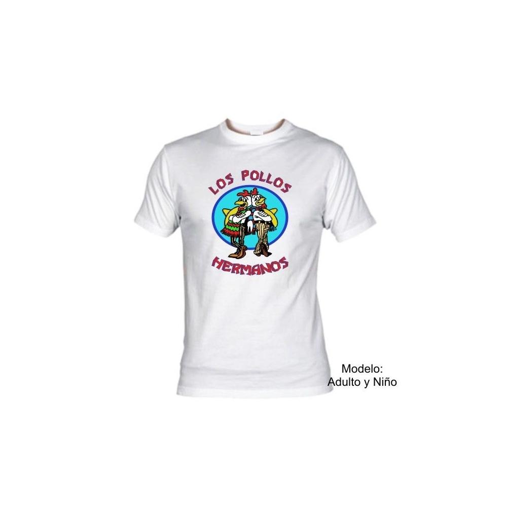 fe8982ae61c6c Camiseta MC Los Pollos Hermanos (Breaking Bad)