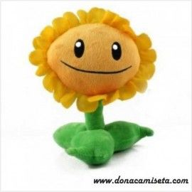 Peluche Planta Girasol (sunflower) (Plants vs Zombies)