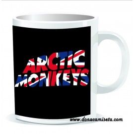 Taza Arctic Monkeys bandera