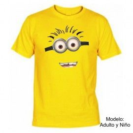 Camiseta MC Minion 2 ojos (Despicable Me)