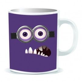 Taza Minion púrpura (Despicable Me)