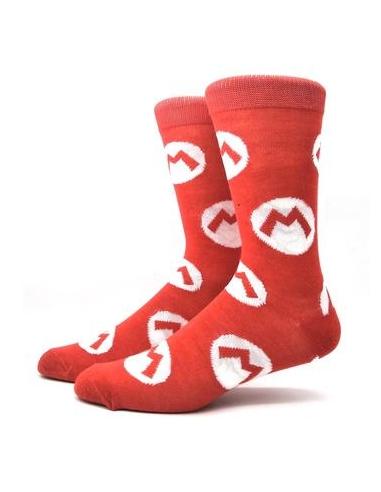 Calcetines Súper Mario Iconos Logo M...
