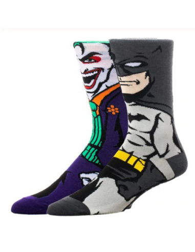 Calcetines Batman y Joker premium 39/45