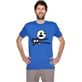 Camiseta MC Unisex Memes Cereal Guy