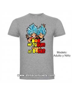 Camiseta Non me toques as...
