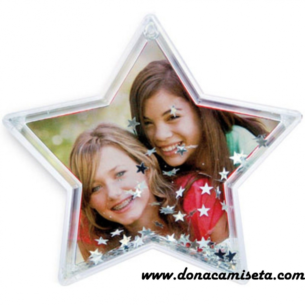 Bola de Nieve Estrellitas Forma de estrella personalizada