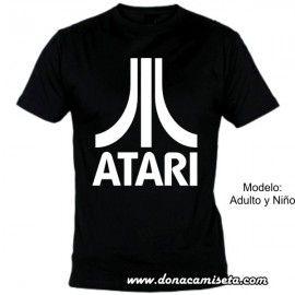 Camiseta MC Atari