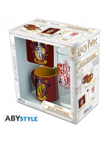 Pack Regalo Harry Potter taza + vaso...