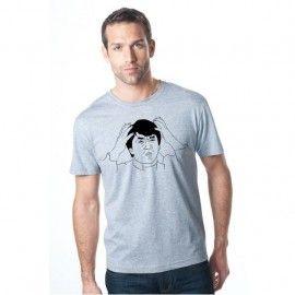 Camiseta MC Unisex Memes Jackie Chan