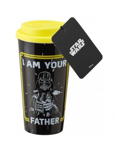 Taza Vaso de viaje Star Wars Darth...