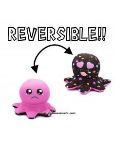 Pulpo Reversible Negro...