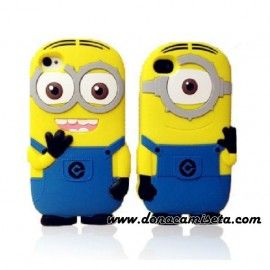 Funda Iphone 4 y 5 Minion