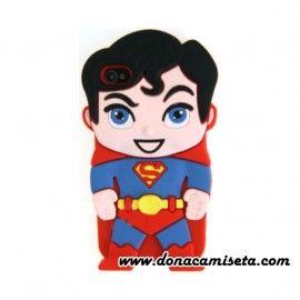 Funda Iphone 4 y 5 Superman