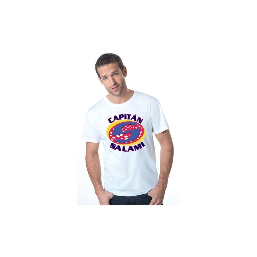 Camiseta MC Unisex Capitan Salami