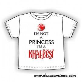 Camiseta MC Bebé Khaleesi