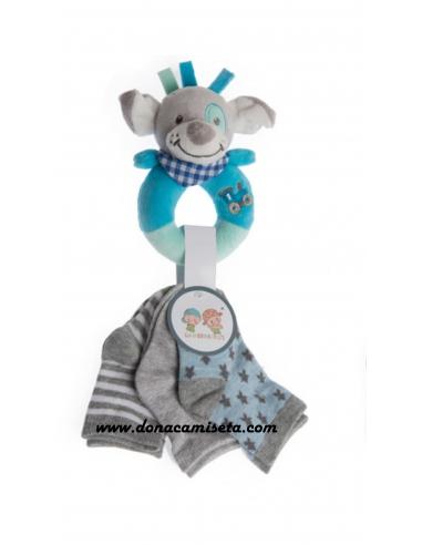 Pack Sonajero de peluche koala + 3...