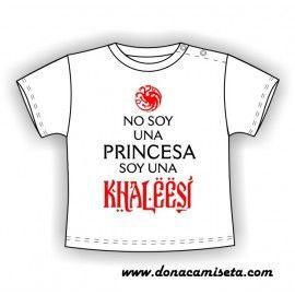 Camiseta MC Bebé Khaleesi (Español)