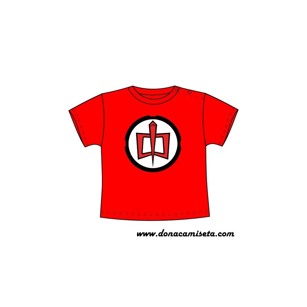 Camiseta MC Bebé Heroe americano