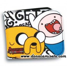 Cartera/Billetero Hora de Aventuras Ready