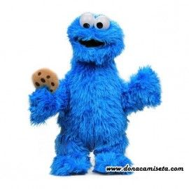 Peluche Monstruo de las Galletas (cookie monster)