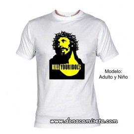 Camiseta Kill Your Idols