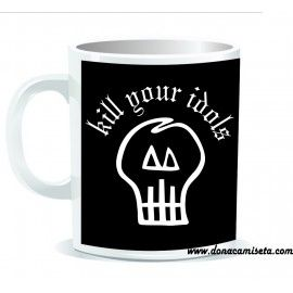 Taza calavera Kill Your Idols